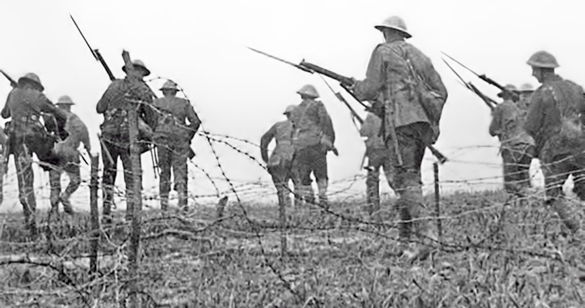 World War II, the battle of the Somme, Wikimedia Creative Commons