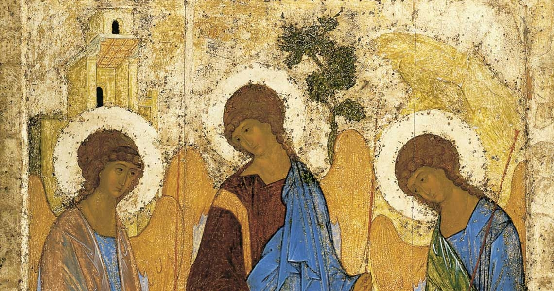 The Trinity, Andrei Rublev
